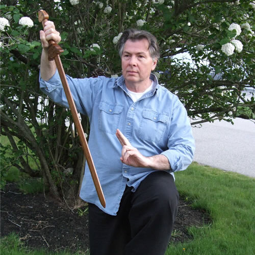 Fred Willette during a Tai Chi Sword class