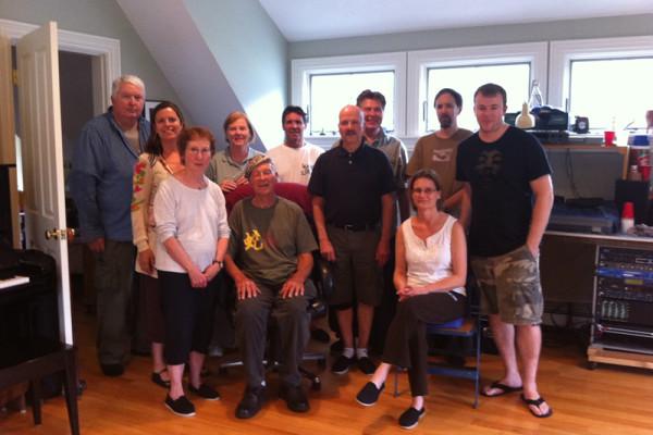 Students attending workshop of Herman Kauz