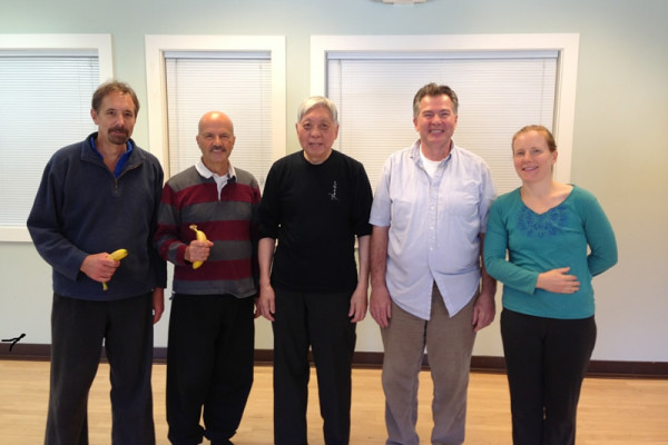 Tai Chi workshop with William C.C. Chen (center)